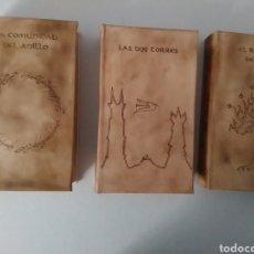 Libros antiguos: TOLKIEN SEÑOR ANILLOS PIEL RARO ÚNICO. Lote 122519419