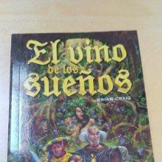 Libros antiguos: EL VINO DE LOS SUEÑOS. BRIAN CRAIG. TIMUN MAS. Lote 124546139