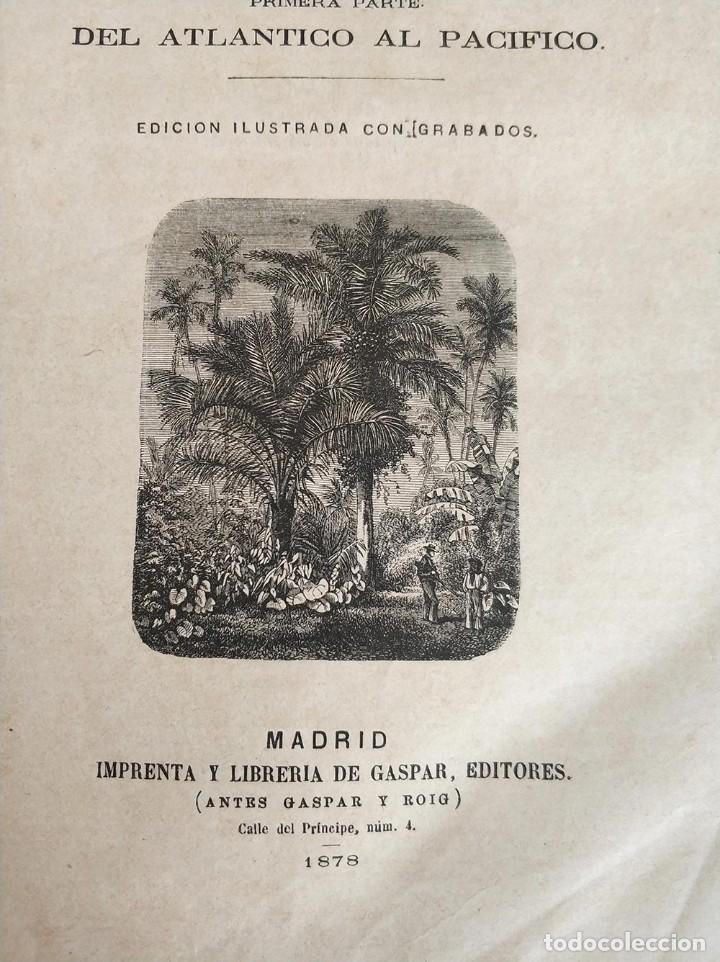 Libros antiguos: tomo con 5 novelas julio verne Veinte mil leguas de viaje submarino 1878 1879 ver mas en descripcion - Foto 9 - 125279427