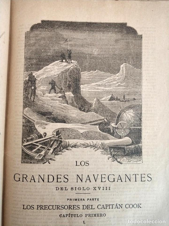 Libros antiguos: tomo con 5 novelas julio verne Veinte mil leguas de viaje submarino 1878 1879 ver mas en descripcion - Foto 19 - 125279427