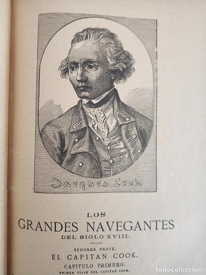 Libros antiguos: tomo con 5 novelas julio verne Veinte mil leguas de viaje submarino 1878 1879 ver mas en descripcion - Foto 22 - 125279427