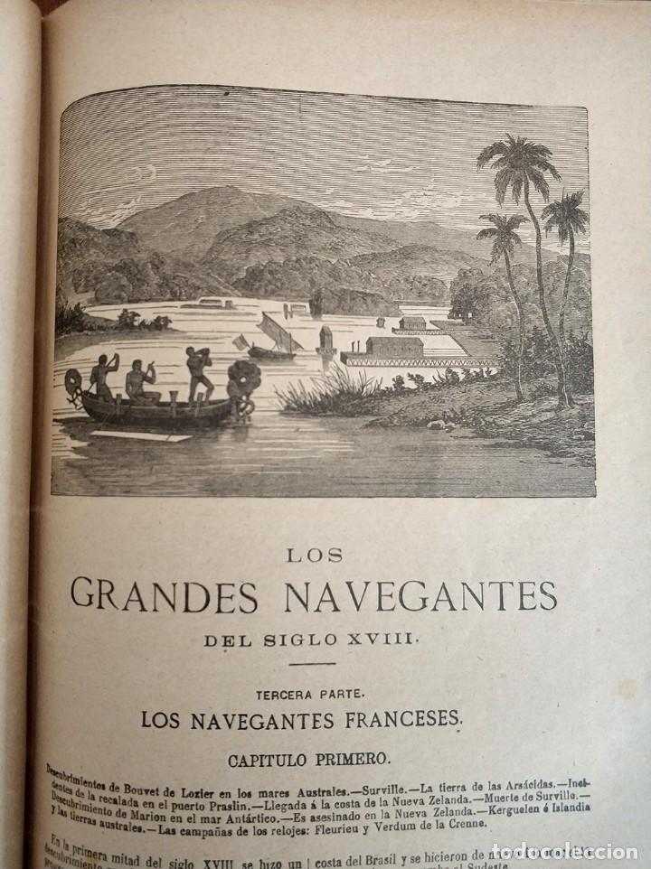 Libros antiguos: tomo con 5 novelas julio verne Veinte mil leguas de viaje submarino 1878 1879 ver mas en descripcion - Foto 25 - 125279427