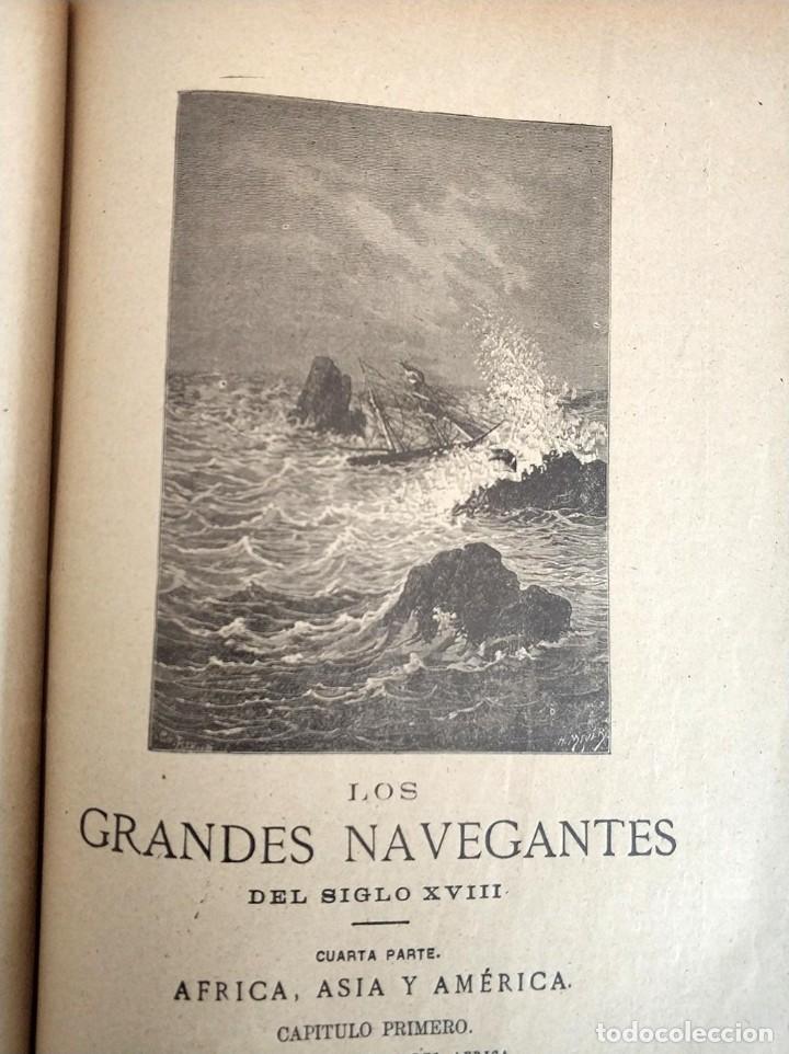 Libros antiguos: tomo con 5 novelas julio verne Veinte mil leguas de viaje submarino 1878 1879 ver mas en descripcion - Foto 29 - 125279427