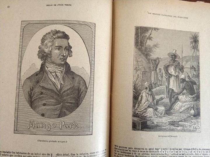 Libros antiguos: tomo con 5 novelas julio verne Veinte mil leguas de viaje submarino 1878 1879 ver mas en descripcion - Foto 30 - 125279427