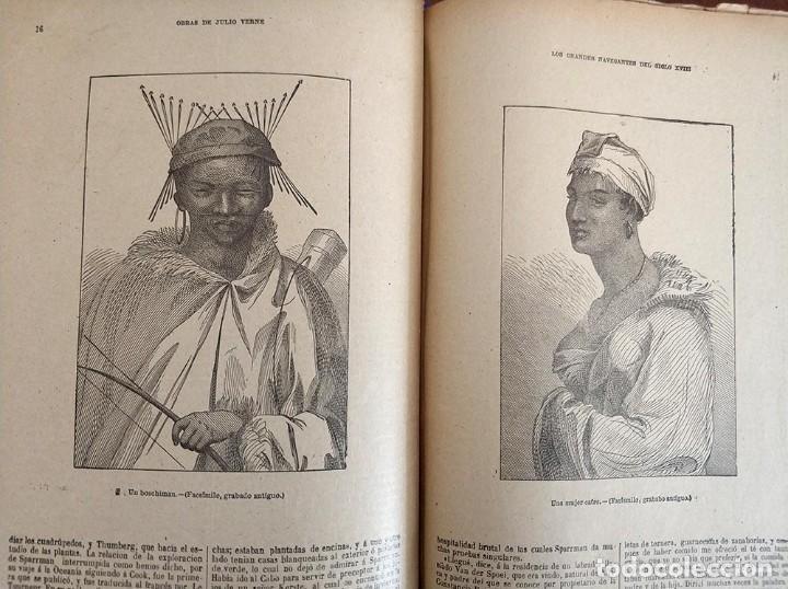 Libros antiguos: tomo con 5 novelas julio verne Veinte mil leguas de viaje submarino 1878 1879 ver mas en descripcion - Foto 31 - 125279427