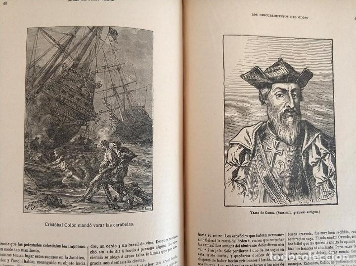 Libros antiguos: tomo con 5 novelas julio verne Veinte mil leguas de viaje submarino 1878 1879 ver mas en descripcion - Foto 38 - 125279427