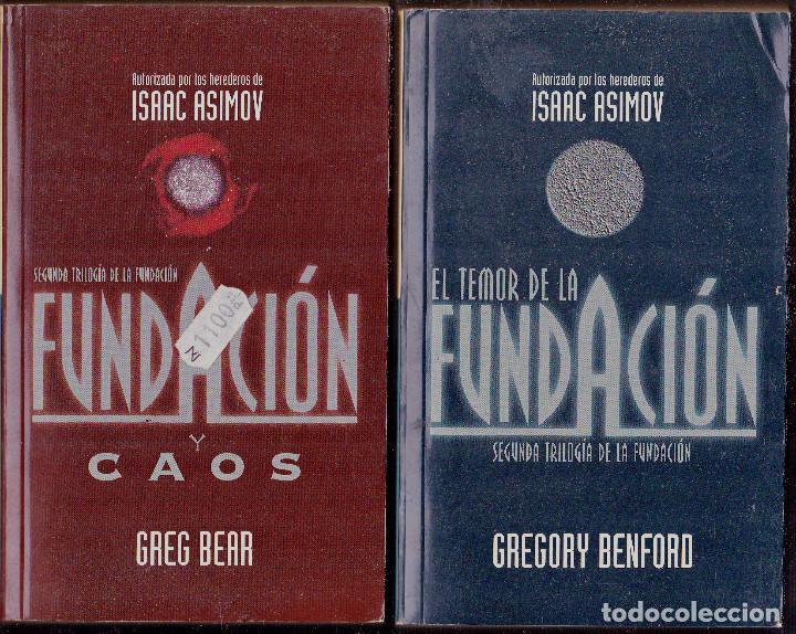 CIENCIA FICCION EL TEMOR DE LA FUNDACION Y CAOS ISAAC ASIMOV GREGORY BENFORD (Libros antiguos (hasta 1936), raros y curiosos - Literatura - Narrativa - Ciencia Ficción y Fantasía)