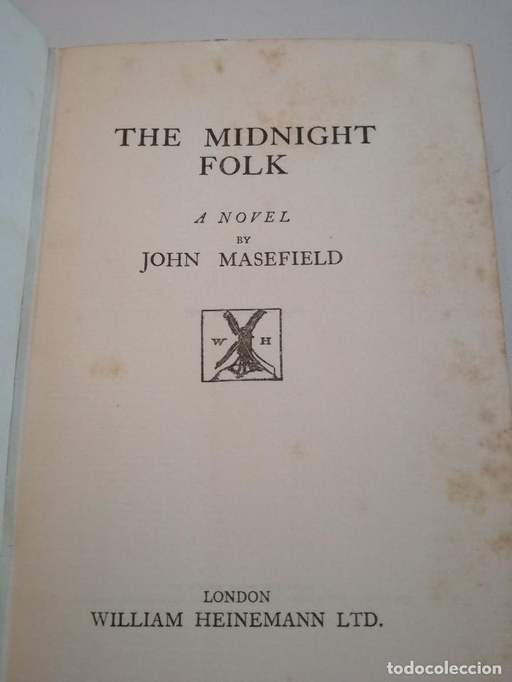 Libros antiguos: LOS PERSONAJES DE LA MEDIANOCHE - THE MIDNIGHT FOLK (1927) - JOHN MASEFIELD - Foto 3 - 128233183