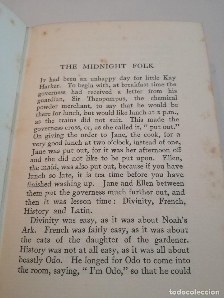Libros antiguos: LOS PERSONAJES DE LA MEDIANOCHE - THE MIDNIGHT FOLK (1927) - JOHN MASEFIELD - Foto 4 - 128233183