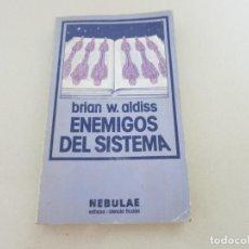 Libros antiguos: EDHASA NEBULAE ENEMIGOS DEL SISTEMA CIENCIA FICCION BRIAN ALDISS. Lote 130595682