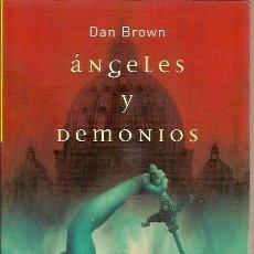 Libros antiguos: ANGELES Y DEMONIOS DAN BROWN UMBRIEL. Lote 131153508