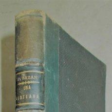 Libros antiguos: CA. 1890. EMILIA PARDO BAZÁN. UNA CRISTIANA. NOVELA. Lote 132825562
