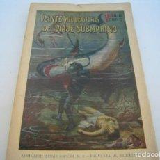 Libros antiguos: VEINTE MIL LEGUAS DE VIAJE SUBMARINO RAMON SOPENA. Lote 135604106