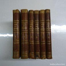 Libros antiguos: ANTONIO FLORES: AYER, HOY Y MAÑANA TOMOS I AL VI (DE VII). CIENCIA FICCION 1ª EDICION MADRID 1863. Lote 136494030