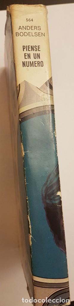 Libros antiguos: PIENSE EN UN NUMERO DE ANDERS BODELSEN - Foto 2 - 136635546