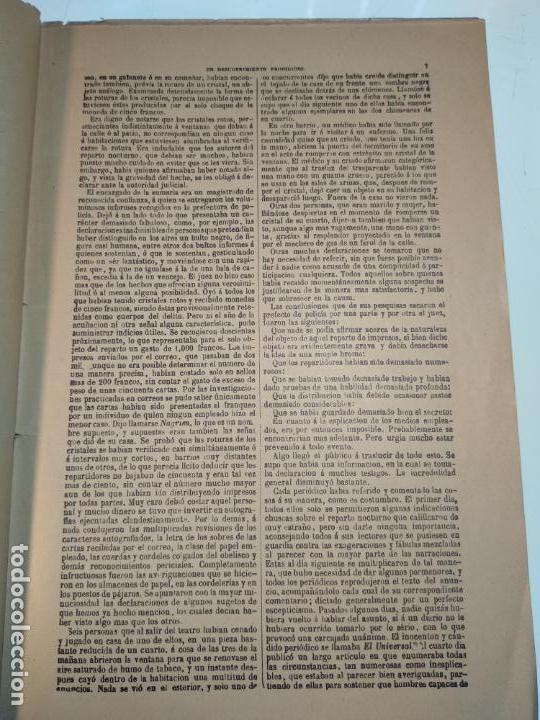 Libros antiguos: UN DESCUBRIMIENTO ASOMBROSO - JULIO VERNE - EDIC. ILUSTRADA CON GRABADOS - MADRID - - Foto 5 - 136763678