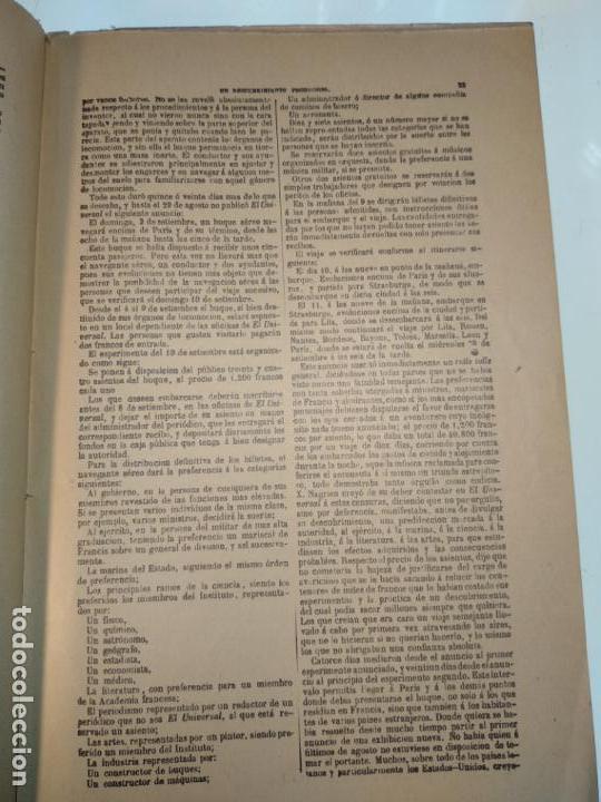 Libros antiguos: UN DESCUBRIMIENTO ASOMBROSO - JULIO VERNE - EDIC. ILUSTRADA CON GRABADOS - MADRID - - Foto 6 - 136763678