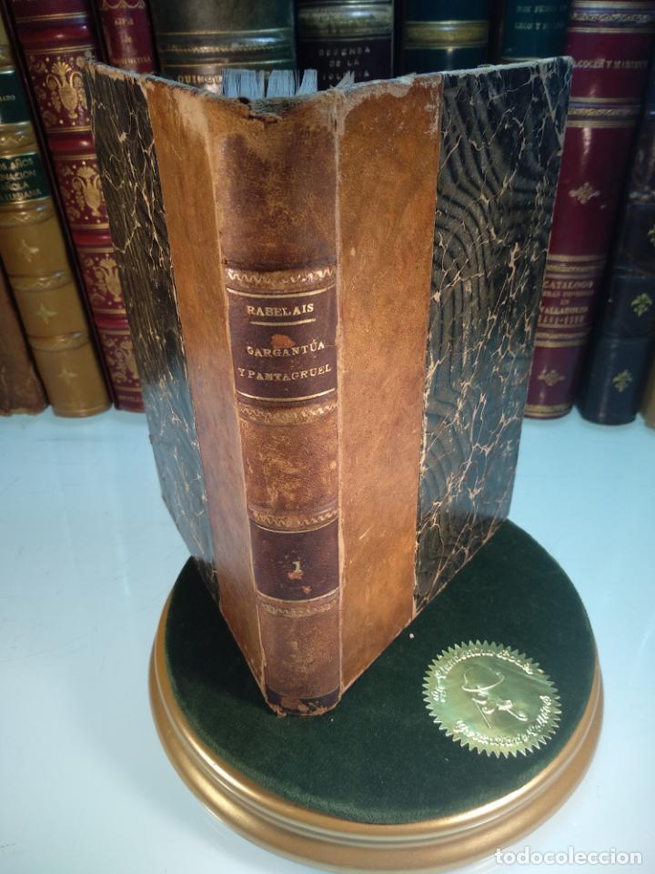 GARGANTÚA Y PANTAGRUEL - RABELAIS - TOMO I - M. AGUILAR EDITOR - MADRID - CIRCA 1937 - (Libros antiguos (hasta 1936), raros y curiosos - Literatura - Narrativa - Ciencia Ficción y Fantasía)