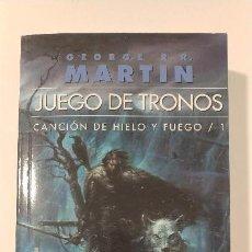 Libros antiguos: JUEGO DE TRONOS 1 (EDICIÓN BOLSILLO). Lote 137333046