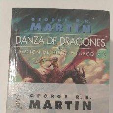 Libros antiguos: JUEGO DE TRONOS 5. DANZA DE DRAGONES (EDICIÓN BOLSILLO). Lote 177477465