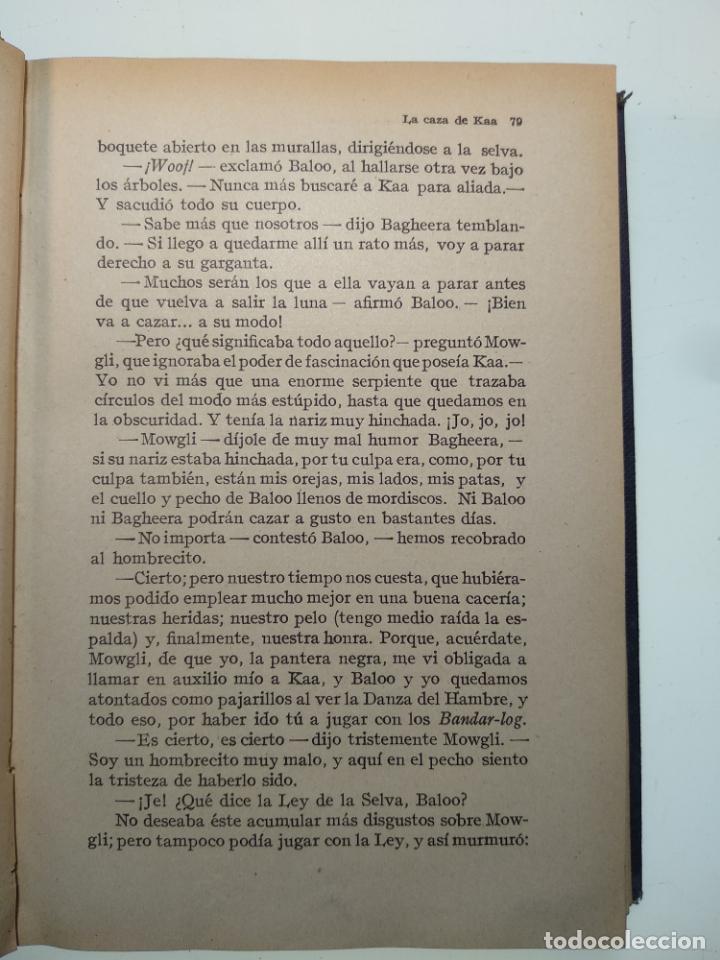 Libros antiguos: EL LIBRO DE LAS TIERRAS VÍRGENES - RUDYARD KIPLING - EDICIÓN DEFINITIVA - GUSTAVO GILI - BCN - 1935- - Foto 5 - 138686010