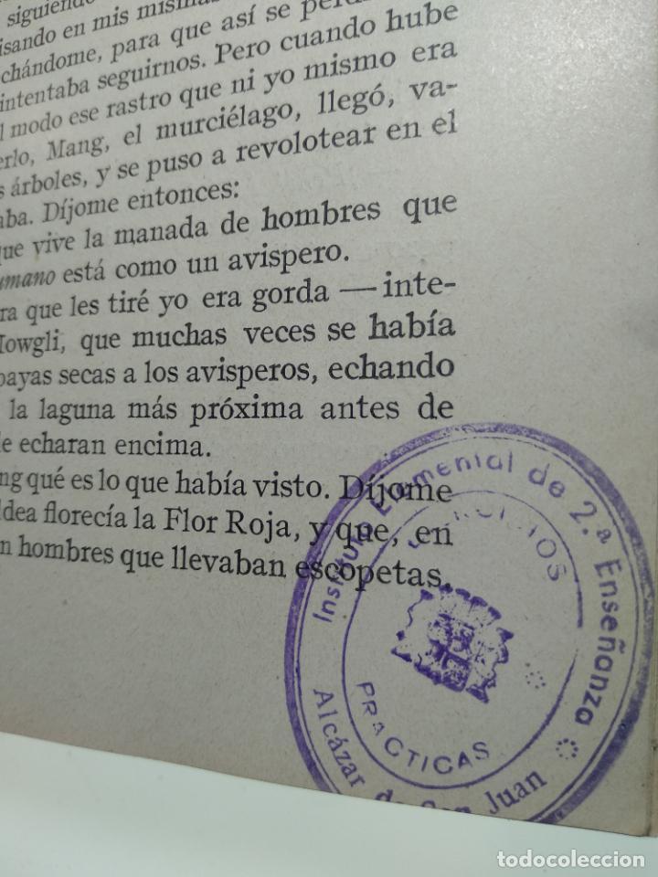 Libros antiguos: EL LIBRO DE LAS TIERRAS VÍRGENES - RUDYARD KIPLING - EDICIÓN DEFINITIVA - GUSTAVO GILI - BCN - 1935- - Foto 6 - 138686010