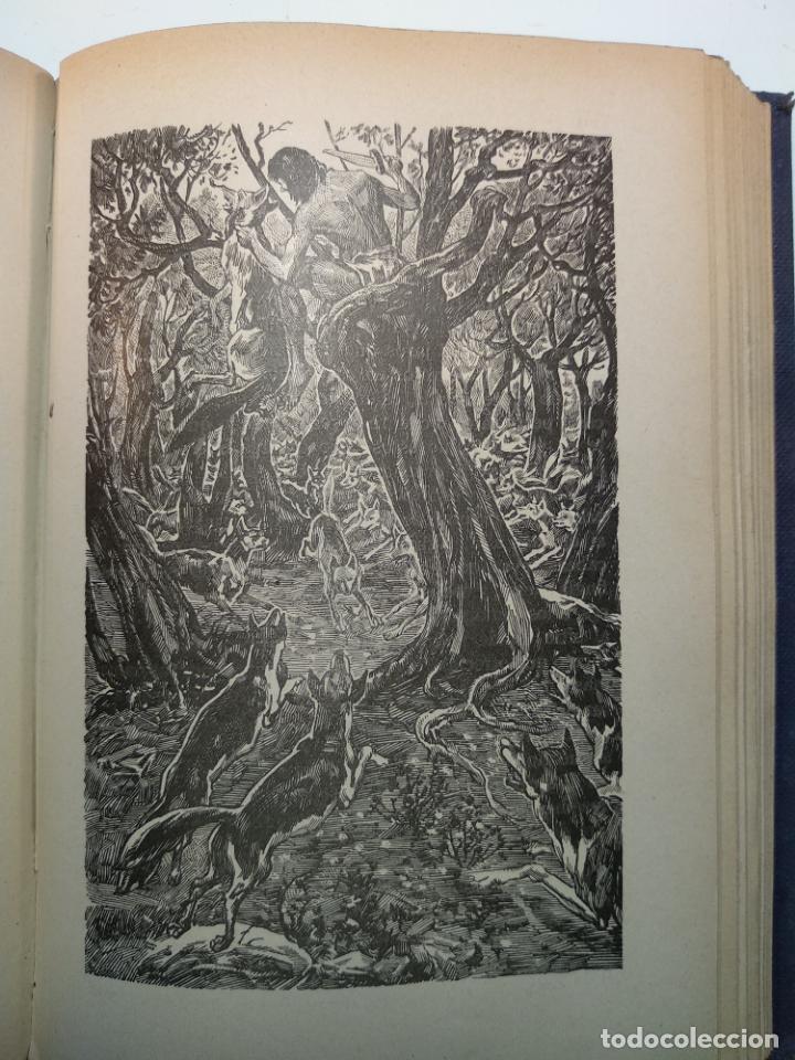 Libros antiguos: EL LIBRO DE LAS TIERRAS VÍRGENES - RUDYARD KIPLING - EDICIÓN DEFINITIVA - GUSTAVO GILI - BCN - 1935- - Foto 8 - 138686010