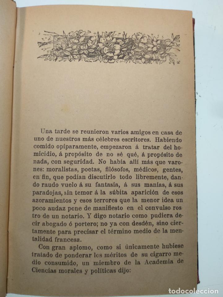 Libros antiguos: EL JARDÍN DE LOS SUPLICIOS - OCATAVIO MIRBEAU - CASA EDITORIAL MAUCCI - BARCELONA - 1902 - Foto 5 - 138687390
