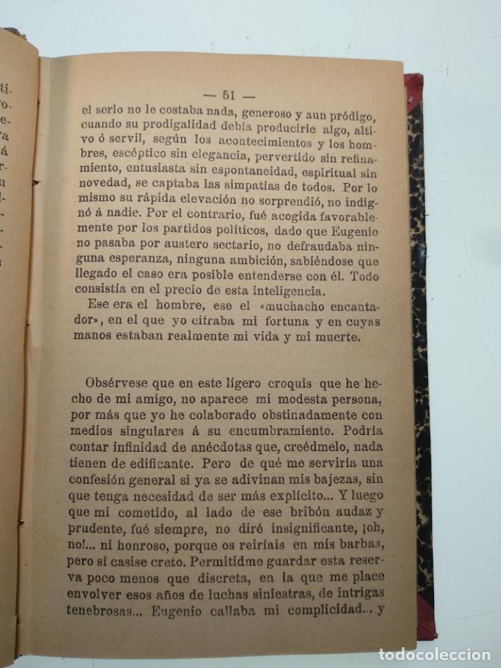 Libros antiguos: EL JARDÍN DE LOS SUPLICIOS - OCATAVIO MIRBEAU - CASA EDITORIAL MAUCCI - BARCELONA - 1902 - Foto 6 - 138687390