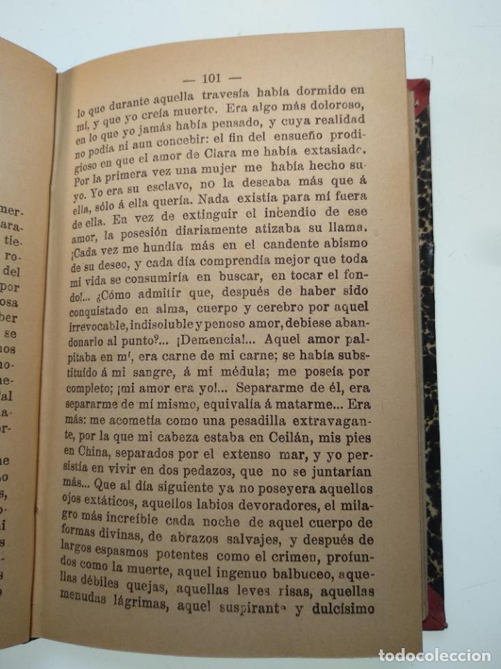 Libros antiguos: EL JARDÍN DE LOS SUPLICIOS - OCATAVIO MIRBEAU - CASA EDITORIAL MAUCCI - BARCELONA - 1902 - Foto 7 - 138687390
