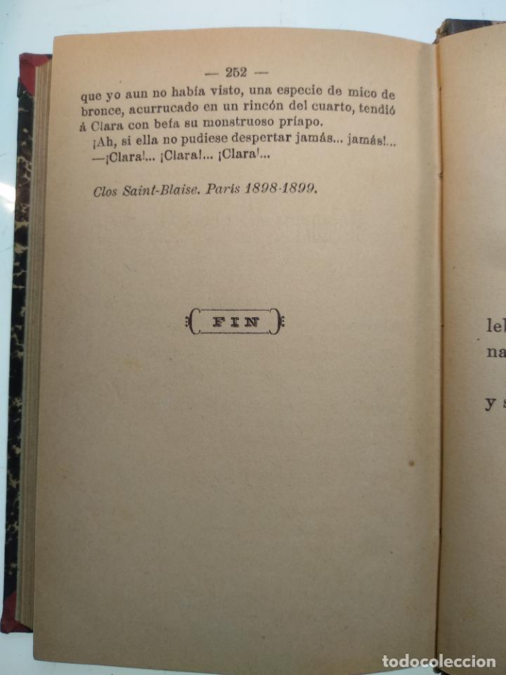 Libros antiguos: EL JARDÍN DE LOS SUPLICIOS - OCATAVIO MIRBEAU - CASA EDITORIAL MAUCCI - BARCELONA - 1902 - Foto 8 - 138687390