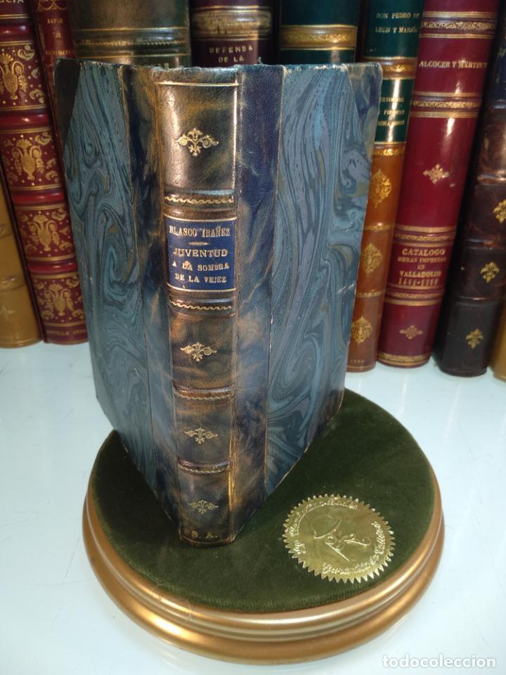 JUVENTUD A LA SOMBRA DE LA VEJEZ - V. BLASCO IBAÑEZ - EDITORIAL COSMOPOLIS - MADRID - 1928 - (Libros antiguos (hasta 1936), raros y curiosos - Literatura - Narrativa - Ciencia Ficción y Fantasía)