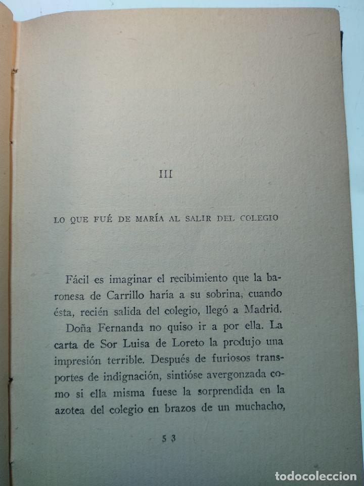 Libros antiguos: JUVENTUD A LA SOMBRA DE LA VEJEZ - V. BLASCO IBAÑEZ - EDITORIAL COSMOPOLIS - MADRID - 1928 - - Foto 4 - 138691154