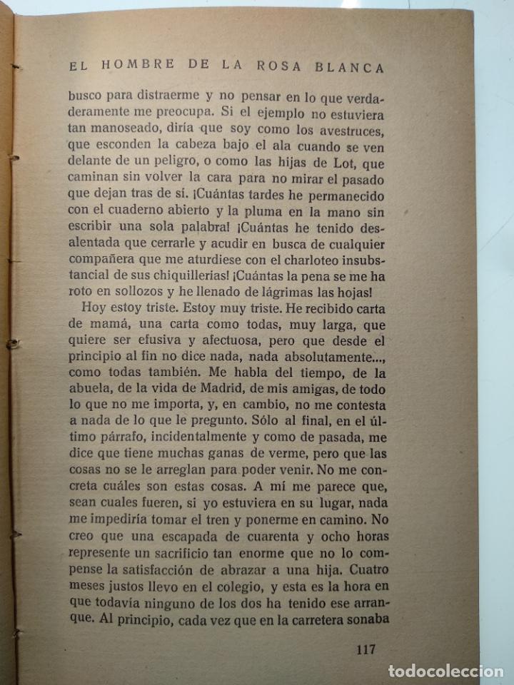 Libros antiguos: EL HOMBRE DE LA ROSA BLANCA - PEDRO MATA - HISTORIA TRISTE DE UNA NIÑA BIEN - EDIT. PUEYO - 1922 - M - Foto 5 - 138691554