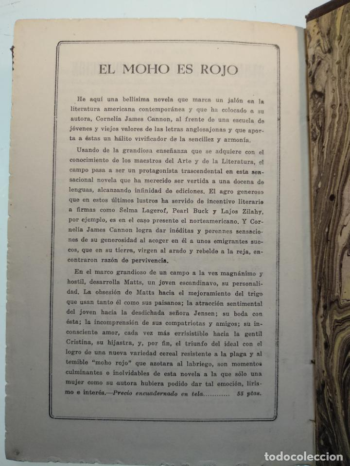 Libros antiguos: DUELO AL SOL - NIVEN BUSCH - EDITORIAL TESORO - MADRID - 1953 - - Foto 8 - 138692674