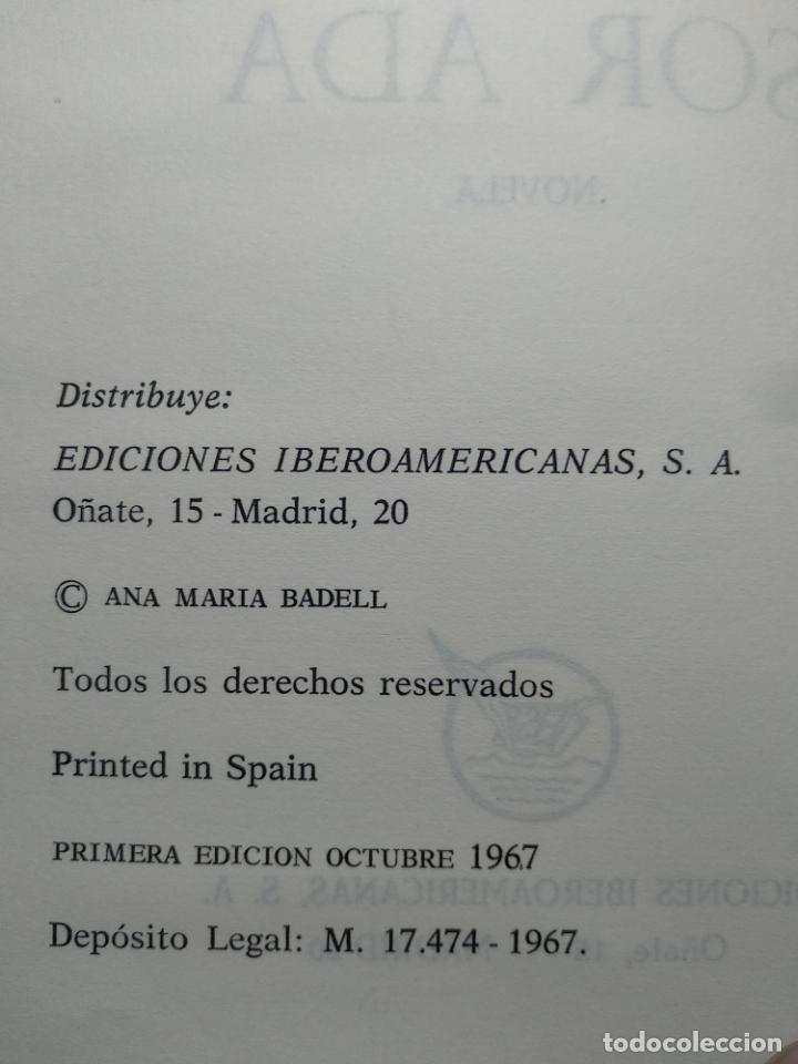 Libros antiguos: SOR ADA - ANA MARÍA BADELL - EDICIONES IBEROAMERICANAS - MADRID - 1967 - - Foto 4 - 138692922