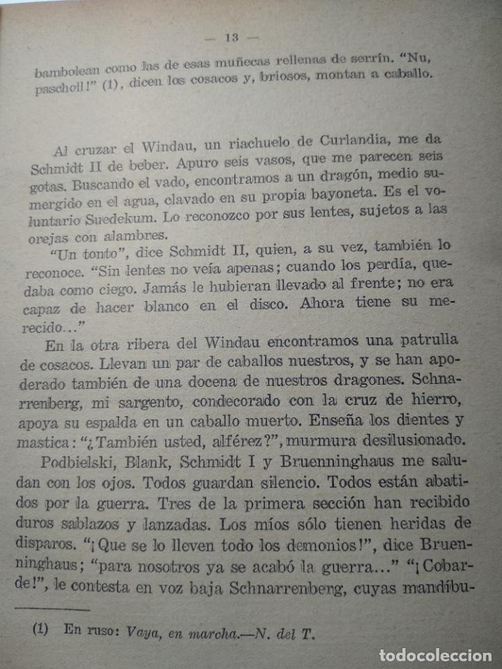 Libros antiguos: LEJOS DE LA ALHAMBRA - EDWIN ERICH DWINGER - ESPASA-CALPE - MADRID - 1930 - PRIMERA EDICIÓN - - Foto 5 - 138694402