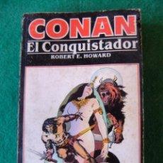 Libros antiguos: CONAN Nº 9 CONAN EL CONQUISTADOR DE ROBERT E. HOWARD EDICIONES FORUM. Lote 139708102