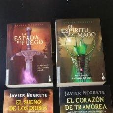 Libros antiguos: JAVIER NEGRETE - SAGA DE TRAMÓREA (COMPLETA). Lote 140324530