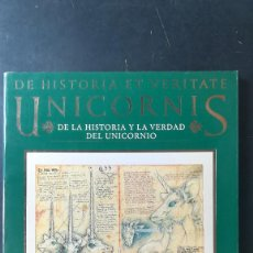 Libros antiguos: DE LA HISTORIA Y LA VERDAD DEL UNICORNIO - MICHAEL GREEN - PER ABBAT - EDICIONES URANO. Lote 140408798