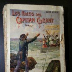 Libros antiguos: JULIO VERNE LOS HIJOS DEL CAPITÁN GRANT TOMO II SOPENA. Lote 140435776