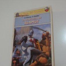 Libros antiguos: LIBROJUEGO LA SAGA DEL CRUZADO LA FORTALEZA DE ALAMUT. Lote 140443590