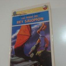 Libros antiguos: LIBROJUEGO LA SAGA DEL CRUZADO LAS MINAS DEL REY SALOMÓN. Lote 140443646