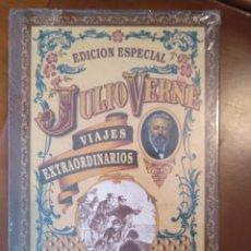 Libros antiguos: JULIO VERNE GRANDES VIAJES.. Lote 140833022