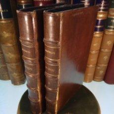 Libros antiguos: BAYRON - ANDRÉ MAUROIS - 2 TOMOS - BERNARD GRASSET - PARÍS - 1930 - FRANCÉS -. Lote 144057498
