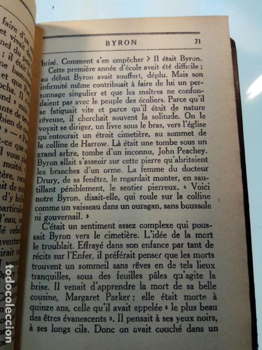 Libros antiguos: BAYRON - ANDRÉ MAUROIS - 2 TOMOS - BERNARD GRASSET - PARÍS - 1930 - FRANCÉS - - Foto 5 - 144057498