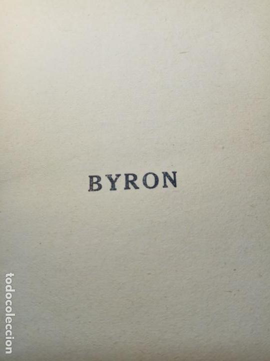 Libros antiguos: BAYRON - ANDRÉ MAUROIS - 2 TOMOS - BERNARD GRASSET - PARÍS - 1930 - FRANCÉS - - Foto 9 - 144057498