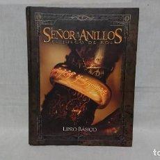 Libros antiguos: LIBRO EL SEÑOR DE LOS ANILLOS - EL JUEGO DE ROL - LIBRO BÁSICO AÑO 2002. Lote 145842074