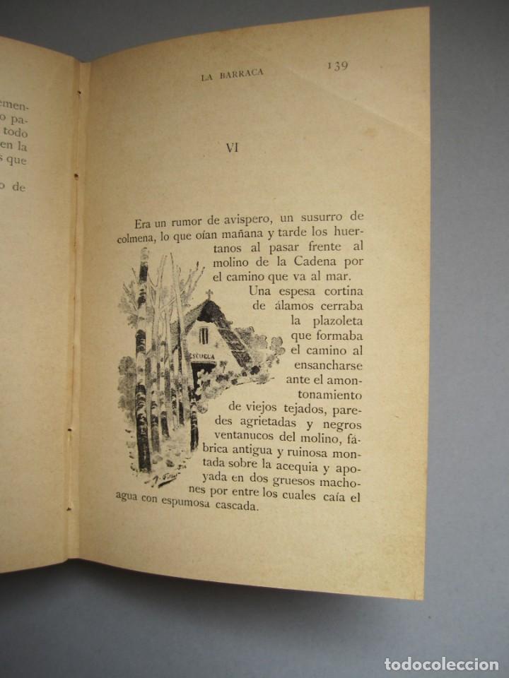 Libros antiguos: LA BARRACA .NOVELA .VICENTE BLASCO IBAÑEZ. F.SEMPERE - ILUSTRACIONES A.FILLOL .1901 1ª EDICIÓN - Foto 5 - 151708106