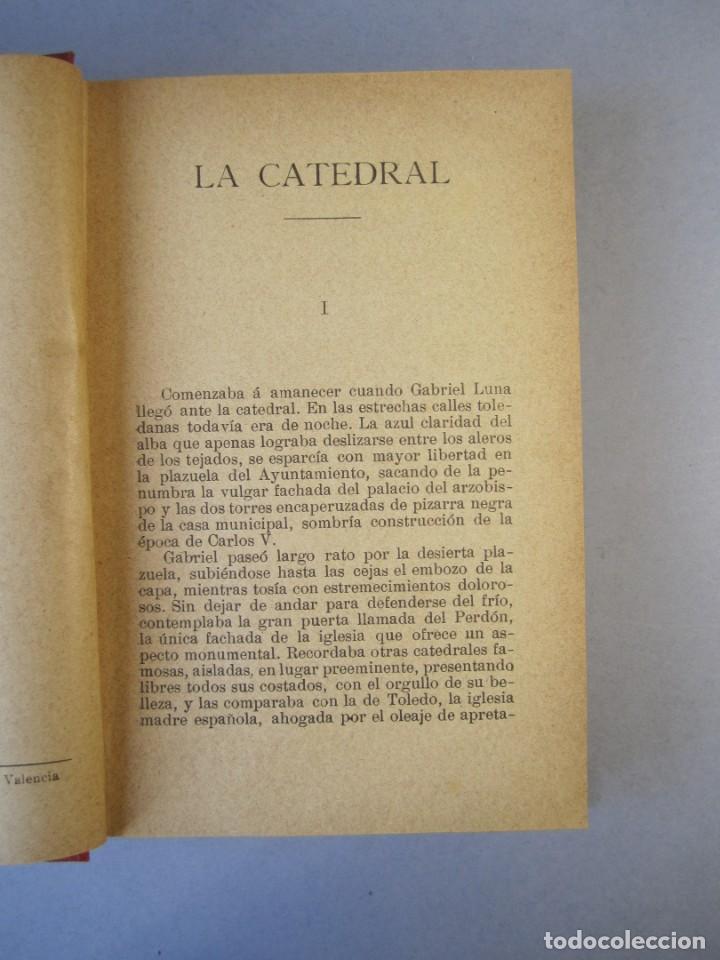 Libros antiguos: LA CATEDRAL. NOVELA .VTE.BLASCO IBAÑEZ ( F.SEMPERE 1903) 1ªEdición ( 1 tirada de 3000 ejemplares) - Foto 6 - 152482518